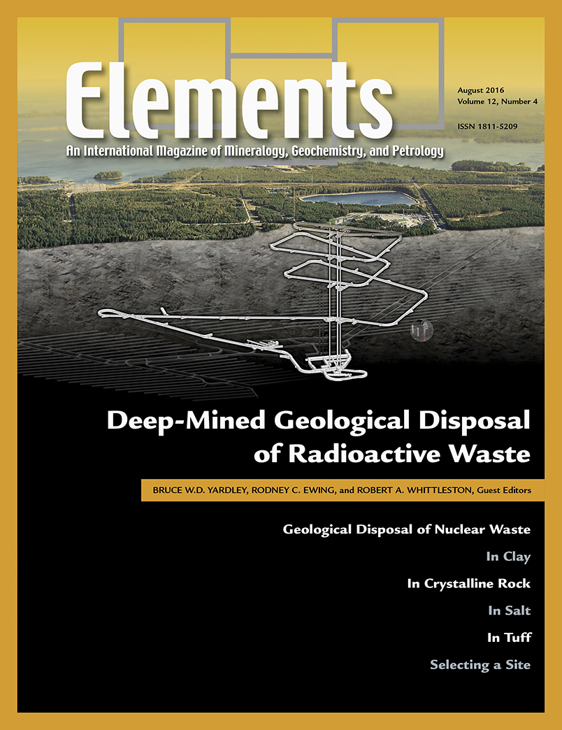 Geological Disposal of Radioactive Waste -- August 2016