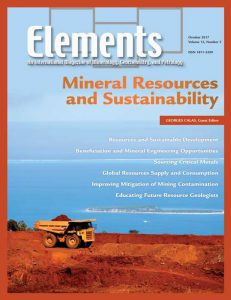 Mineral Resources and Sustainability - Elements