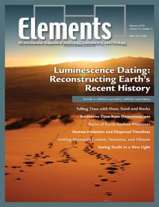February 2018 cover of Elements magazine.
