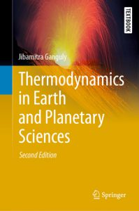 Book Cover -- Thermodynamics in Earth and Planetary Sciences 2nd Edition